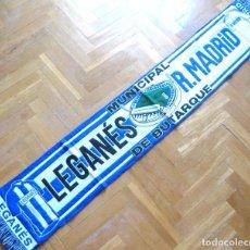 Coleccionismo deportivo: BUFANDA SCARF CD LEGANES - REAL MADRID EN ESTADIO BUTARQUE LIGA 2016-2017 SCHAL. Lote 184756186