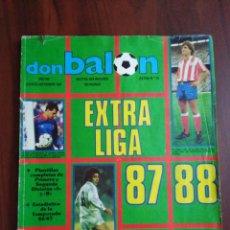 Coleccionismo deportivo: FÚTBOL EXTRAS DON BALÓN ( 4 EN TOTAL ) Y DE AS ( 2 EN TOTAL ). Lote 187085870