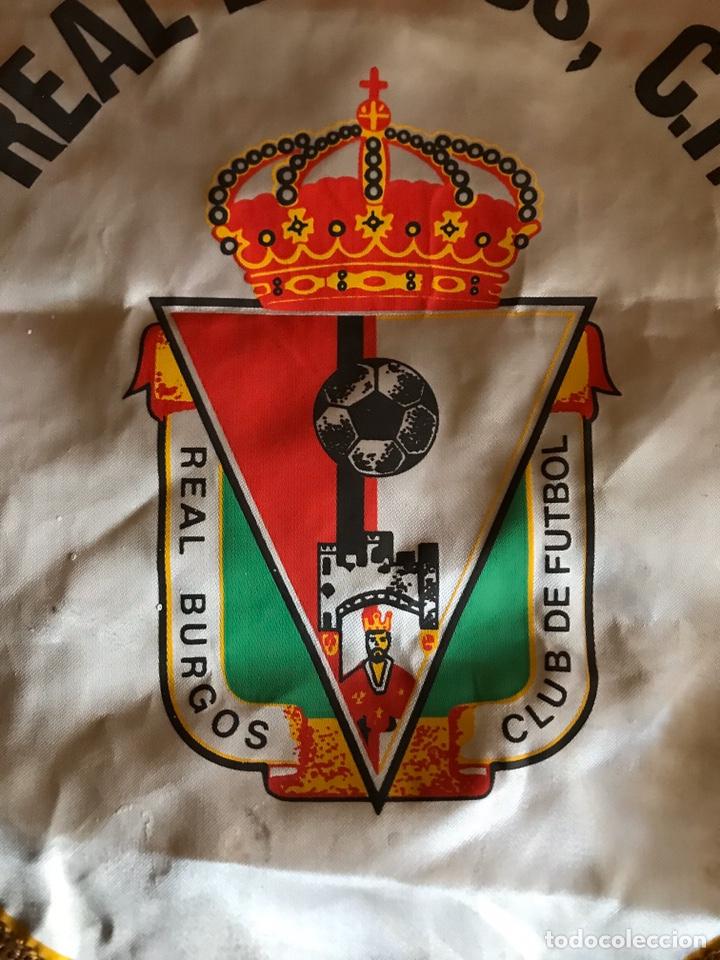 Coleccionismo deportivo: Banderín Futbol - Real Burgos fútbol club - Foto 2 - 189223483