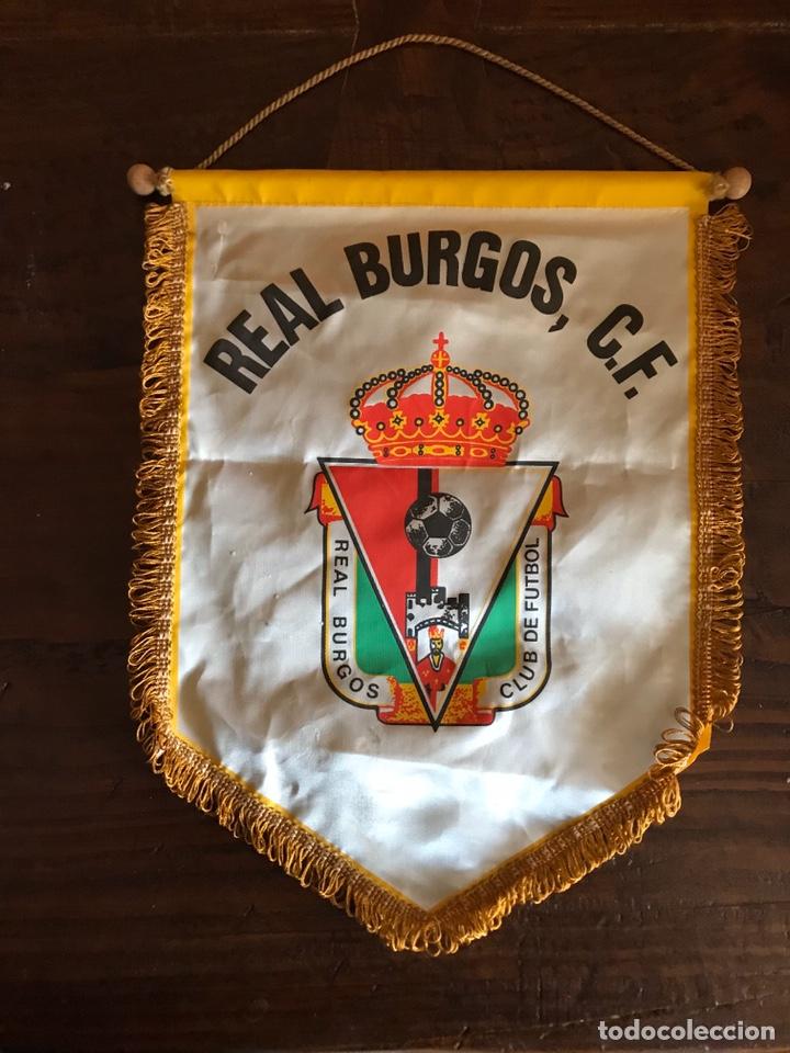BANDERÍN FUTBOL - REAL BURGOS FÚTBOL CLUB (Coleccionismo Deportivo - Material Deportivo - Fútbol)