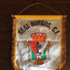 Coleccionismo deportivo: BANDERÍN FUTBOL - REAL BURGOS FÚTBOL CLUB. Lote 189223483