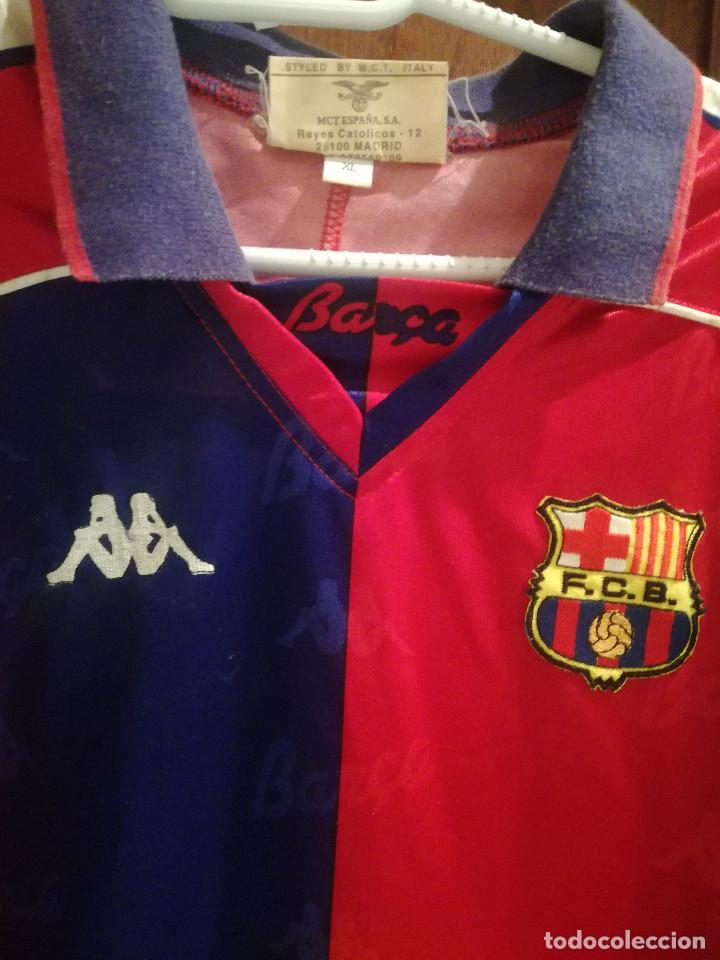 Coleccionismo deportivo: FC BARCELONA 1993-94 Dorsal 8 XL CAMISETA FUTBOL FOOTBALL SHIRT - Foto 2 - 189513572