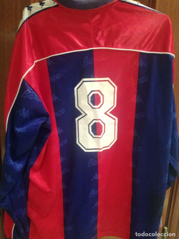 Coleccionismo deportivo: FC BARCELONA 1993-94 Dorsal 8 XL CAMISETA FUTBOL FOOTBALL SHIRT - Foto 4 - 189513572