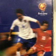 Coleccionismo deportivo: DVD UEFA EURO 2004 THE STARS OF EURO (1-50) FÚTBOL. Lote 189755566