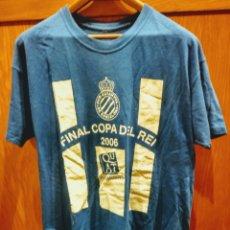 Coleccionismo deportivo: CAMISETA R.C.D. ESPANYOL. FINAL COPA DEL REI. 2006.. Lote 189776726