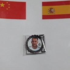 Coleccionismo deportivo: COLECCION GREFUCHAPAS GREFU CHAPAS GREFUSA LIGA SANTANDER 2019 2020 19 20 REAL MADRID HAZARD 380. Lote 190014215