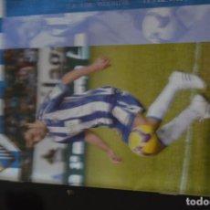 Coleccionismo deportivo: PROGRAMA DEL PARTIDO MALAGA-RCD ESPANYOL 2008-09.18 DE ENERO 2009. Lote 190603072