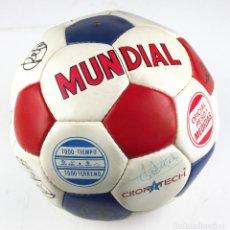Coleccionismo deportivo: PELOTA DE FUTBOL FIRMADA - ESPAÑA. 1980'S.. Lote 191770346