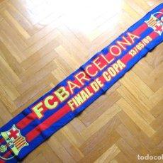 Coleccionismo deportivo: BUFANDA FC BARCELONA FINAL COPA REY 2009 ACRILICA NUEVA ORIGINAL SCARF SCIARPA ECHARPE R. Lote 191824445