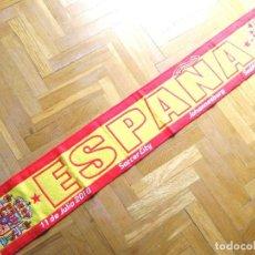 Coleccionismo deportivo: BUFANDA ESPAÑA FINAL MUNDIAL WORLD CUP 2010 SOCCER CITY JOHANNESBURG NUEVA ORIGINAL SCARF. Lote 191827568