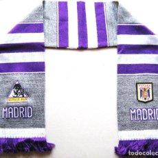 Coleccionismo deportivo: BUFANDA ULTRAS SUR REAL MADRID COLOR GRIS ACRILICA A ESTRENAR SCARF SCHAL SCIARPA ECHARPE R. Lote 243795620