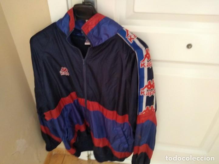 Coleccionismo deportivo: Antiguo chandal Kappa Barça (chaqueta+pantalón).Auténtico años 90 Perfecto estado - Foto 3 - 193398245