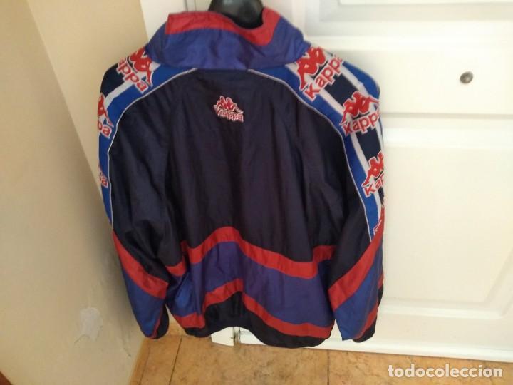 Coleccionismo deportivo: Antiguo chandal Kappa Barça (chaqueta+pantalón).Auténtico años 90 Perfecto estado - Foto 4 - 193398245