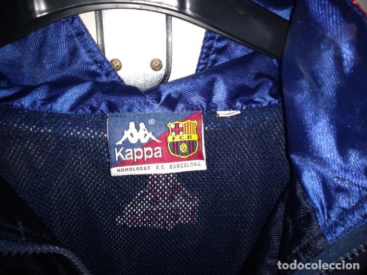 Coleccionismo deportivo: Antiguo chandal Kappa Barça (chaqueta+pantalón).Auténtico años 90 Perfecto estado - Foto 5 - 193398245