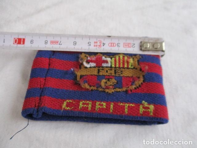 Coleccionismo deportivo: Brazalete capitán del FC Barcelona - capità Barça fútbol culé - Foto 3 - 193438808