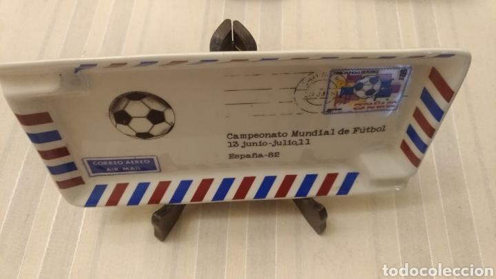 Coleccionismo deportivo: Cenicero Mundial de Fútbol ESPAÑA 1982 - MODELO UNICO - Foto 2 - 194215631