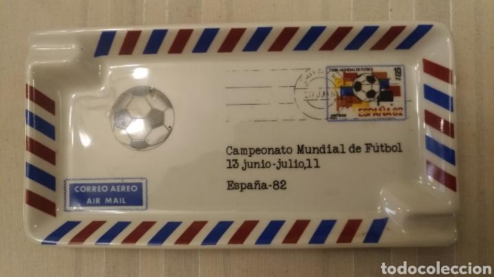 CENICERO MUNDIAL DE FÚTBOL ESPAÑA 1982 - MODELO UNICO (Coleccionismo Deportivo - Material Deportivo - Fútbol)