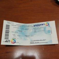 Coleccionismo deportivo: ENTRADA FÚTBOL EIBAR-BARCELONA 2014/2015. Lote 194346890