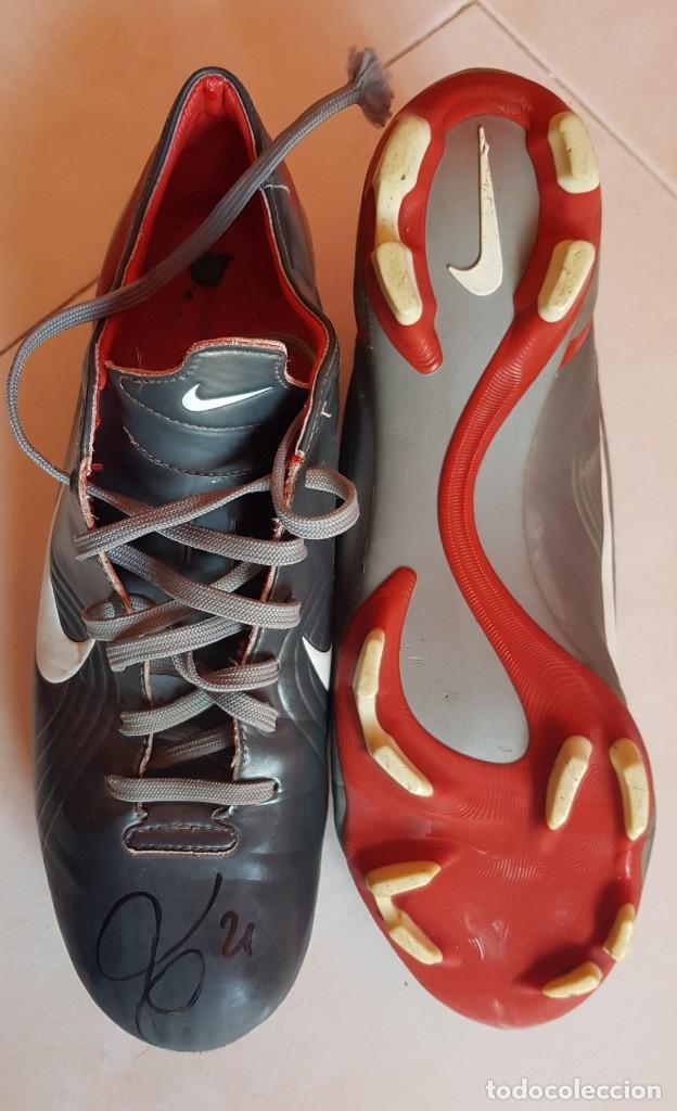Coleccionismo deportivo: FC BARCELONA BARÇA 2002-03 MATCH WORN BOOTS LUIS ENRIQUE FIRMADAS - Foto 2 - 195084096