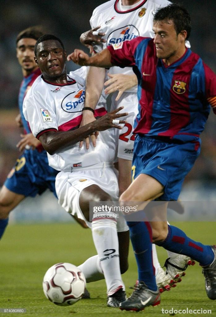 Coleccionismo deportivo: FC BARCELONA BARÇA 2002-03 MATCH WORN BOOTS LUIS ENRIQUE FIRMADAS - Foto 3 - 195084096