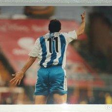 Coleccionismo deportivo: DEPORTIVO LA CORUÑA FOTOGRAFIA JOSE OSCAR TURU FLORES CAMPEON TEMPORADA 1999 - 2000. Lote 195405628