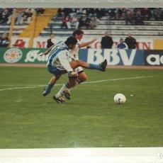 Coleccionismo deportivo: DEPORTIVO LA CORUÑA FOTOGRAFIA JOSE OSCAR TURU FLORES CAMPEON TEMPORADA 1999 - 2000. Lote 195405832