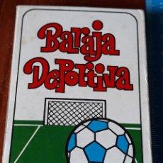 Coleccionismo deportivo: BARAJA DE CARTAS DEPORTIVA ANTIGUA. Lote 195426652