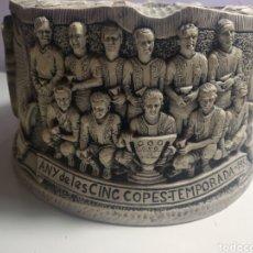 Coleccionismo deportivo: CENICERO FC BARCELONA TEMPORADA 1973 - 1974 AÑOS DE LAS CINCO COPAS 1951 - 1952. Lote 196172077