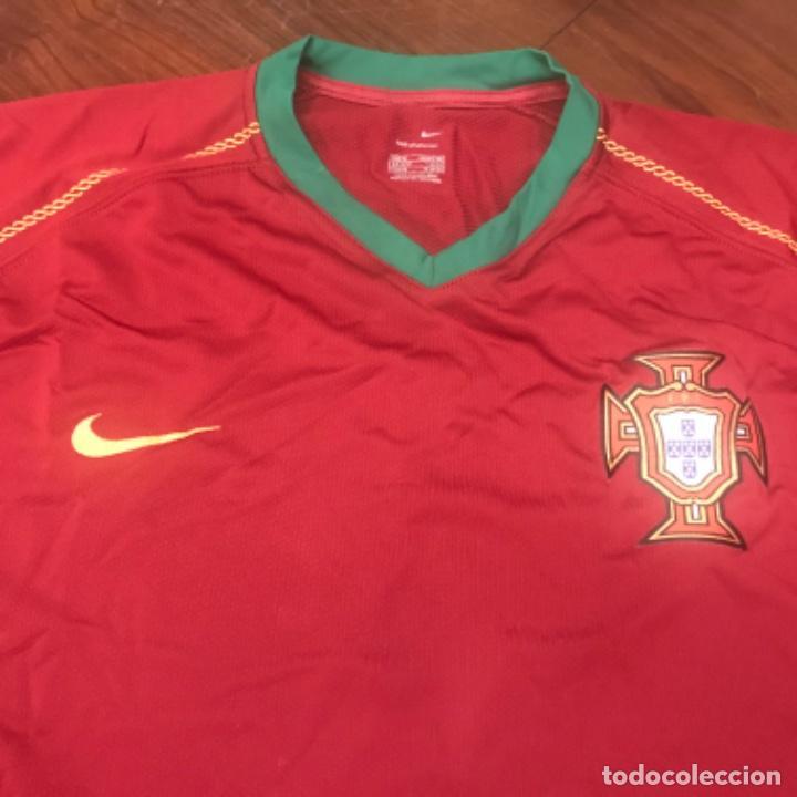 Coleccionismo deportivo: Camiseta Oficial Selección Portuguesa de Fútbol. Nike. - Foto 2 - 197674221