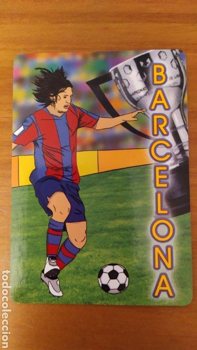 Coleccionismo deportivo: LOTE 2 CALENDARIOS DEL FC BARCELONA - Foto 3 - 197790240
