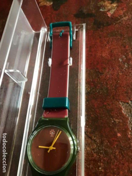 Coleccionismo deportivo: Reloj Oficial Federación Portuguesa de Fútbol. Sin estrenar - Foto 4 - 197905956