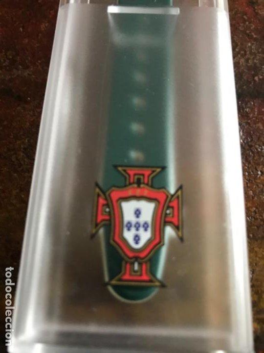 Coleccionismo deportivo: Reloj Oficial Federación Portuguesa de Fútbol. Sin estrenar - Foto 5 - 197905956