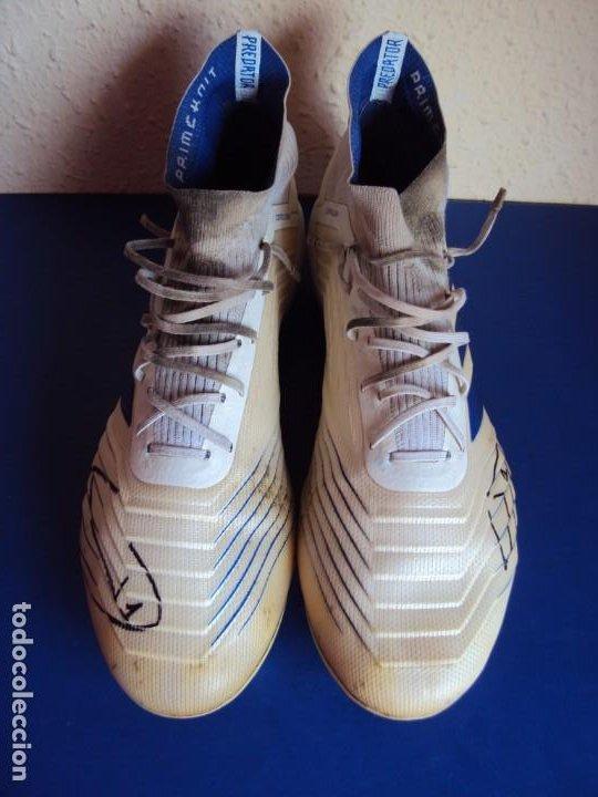 Coleccionismo deportivo: (F-200390)BOTAS FIRMADAS DE TER STEGEN - F.C.BARCELONA - MATCH WORN - Foto 3 - 198335105