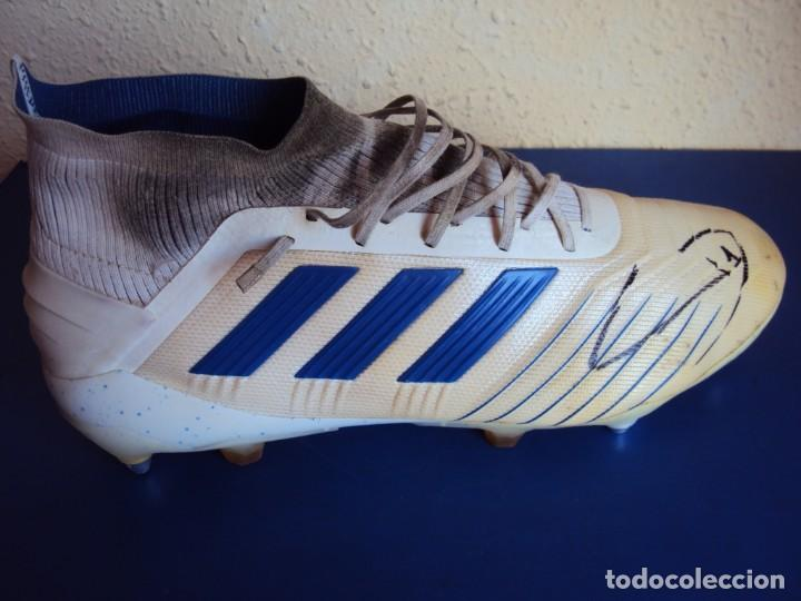 Coleccionismo deportivo: (F-200390)BOTAS FIRMADAS DE TER STEGEN - F.C.BARCELONA - MATCH WORN - Foto 5 - 198335105