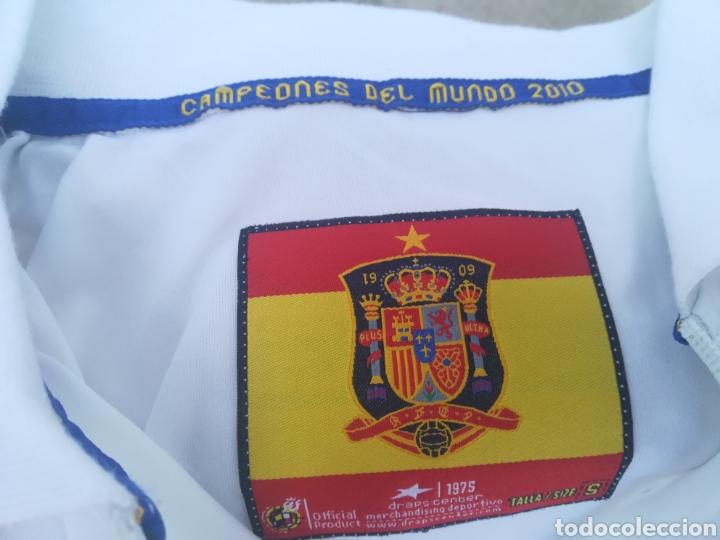 Coleccionismo deportivo: Comiseta oficial Campeonato del mundo de Fútbol 2010 España campeón - Foto 7 - 198642913