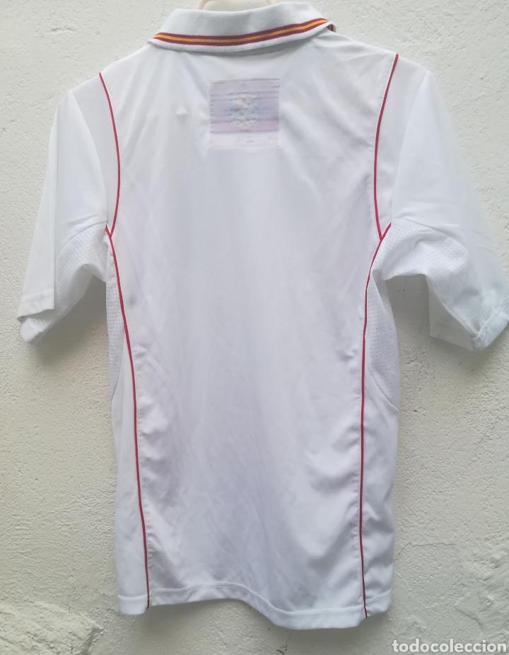 Coleccionismo deportivo: Comiseta oficial Campeonato del mundo de Fútbol 2010 España campeón - Foto 8 - 198642913