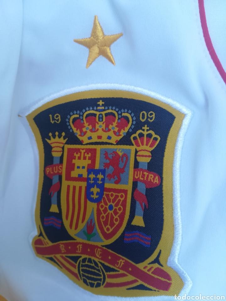 Coleccionismo deportivo: Comiseta oficial Campeonato del mundo de Fútbol 2010 España campeón - Foto 9 - 198642913