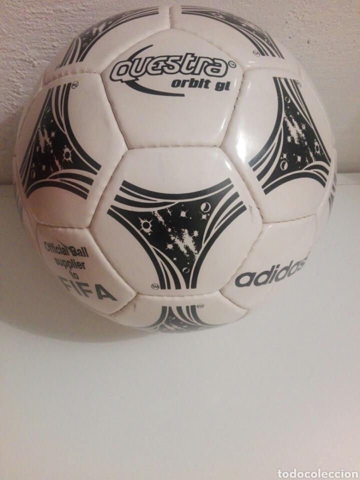 BALON DE FUTBOL FOOTBALL ADIDAS QUESTRA (Coleccionismo Deportivo - Material Deportivo - Fútbol)