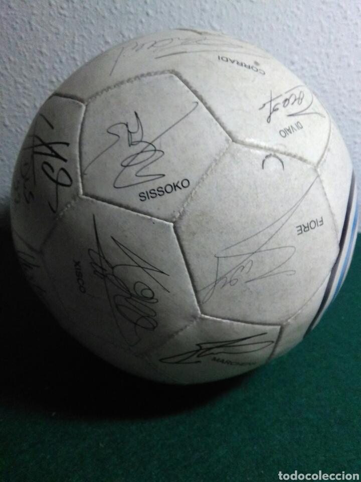 Coleccionismo deportivo: Balón de futbol futbol club valencia con las firmas de jugadores - Foto 3 - 199821930