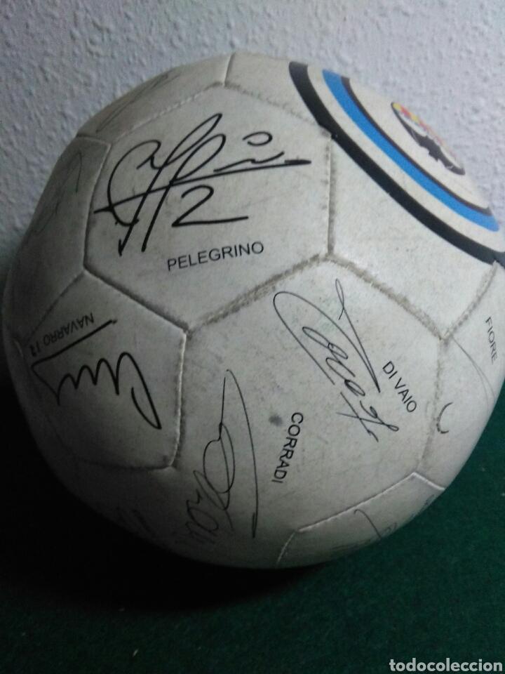 Coleccionismo deportivo: Balón de futbol futbol club valencia con las firmas de jugadores - Foto 6 - 199821930