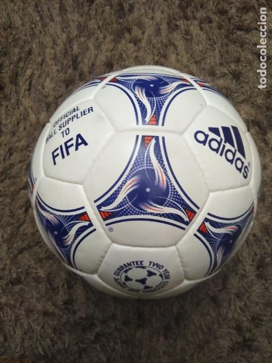 Coleccionismo deportivo: Balón Adidas Tricolore Francia 1998 - Foto 3 - 200081568