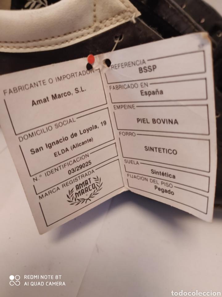 Coleccionismo deportivo: Botas fútbol vintage Marca MARCO años 80 , talla 35-36 sin usar - Foto 4 - 200131370