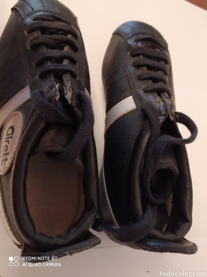 Coleccionismo deportivo: Botas fútbol vintage marca GIRETT, talla 32 original años 80 sin usar - Foto 4 - 200132260