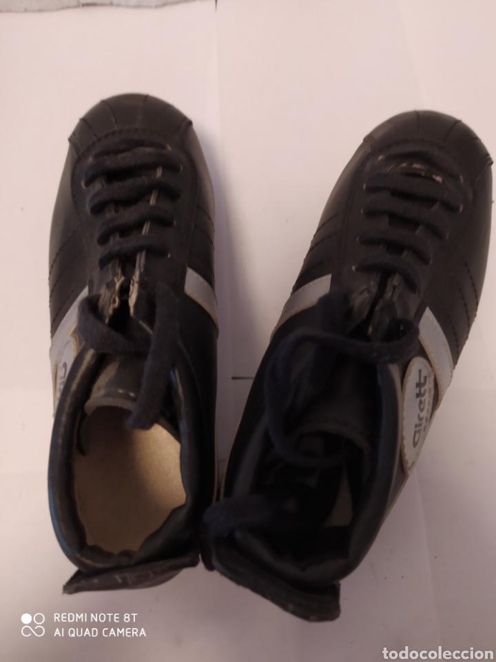 Coleccionismo deportivo: Botas fútbol vintage marca GIRETT, talla 32 original años 80 sin usar - Foto 8 - 200132260