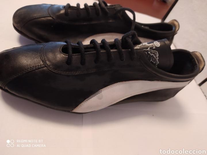 Coleccionismo deportivo: Botas fútbol vintage marca PIÑOL, años 80 talla 33-34 - Foto 3 - 200132836