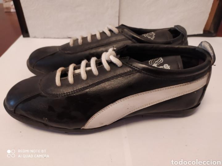 Coleccionismo deportivo: Botas fútbol Sala vintage ELASTORSA, años 80 talla 39 sin usar - Foto 5 - 200133637