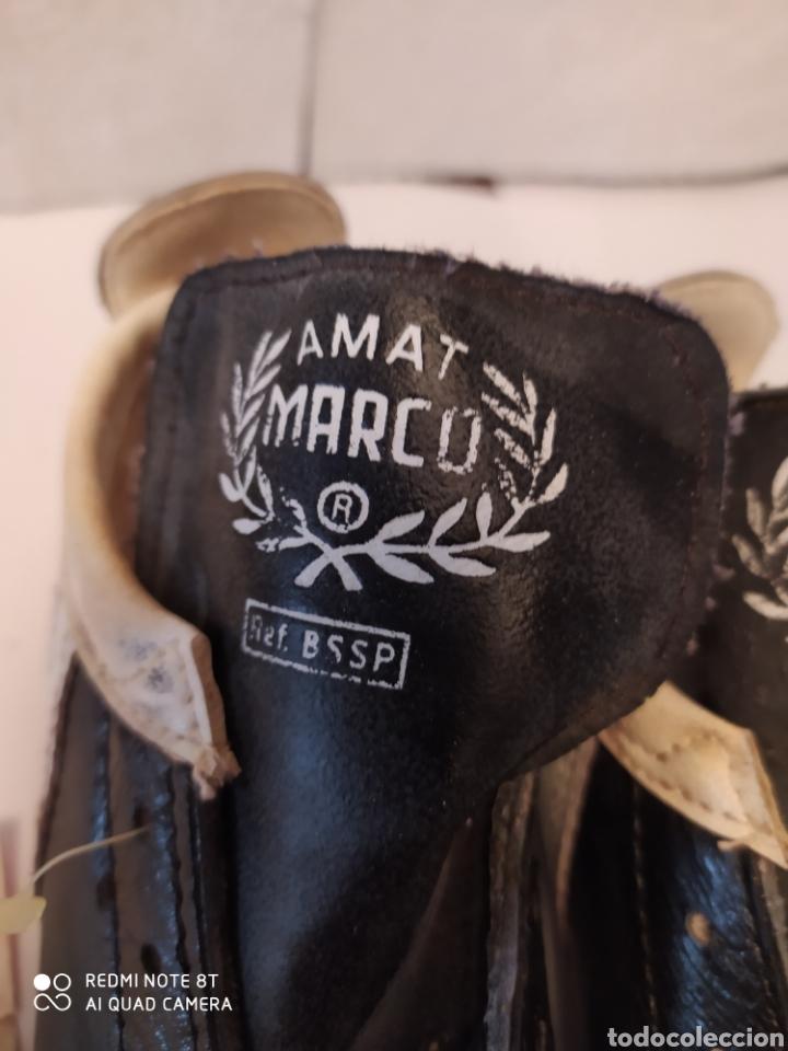 Coleccionismo deportivo: Botas fútbol vintage marca MARCÓ, talla 8 años 80 sin usar - Foto 2 - 200134243