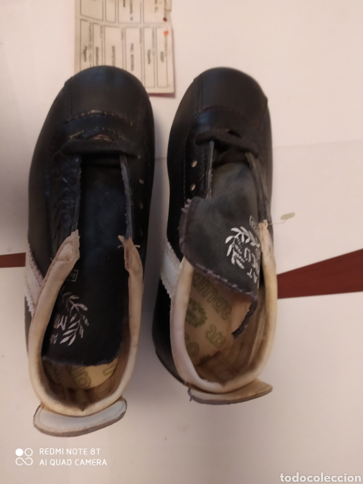 Coleccionismo deportivo: Botas fútbol vintage marca MARCÓ, talla 8 años 80 sin usar - Foto 7 - 200134243