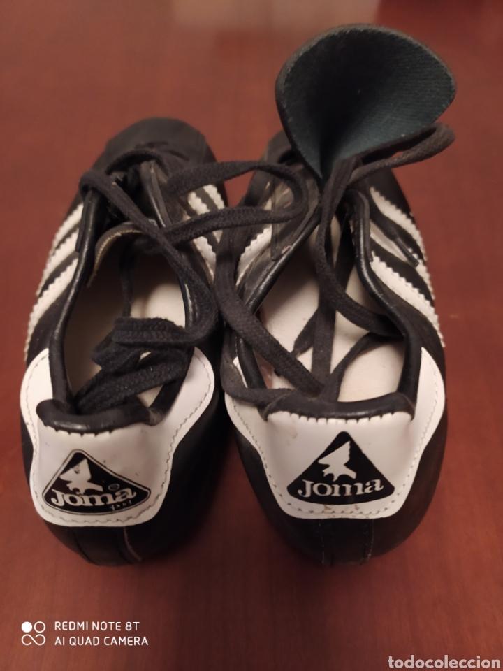 Coleccionismo deportivo: Botas de fútbol vintage marca JOMA, talla 32 originales años 80 sin usar - Foto 4 - 200334271