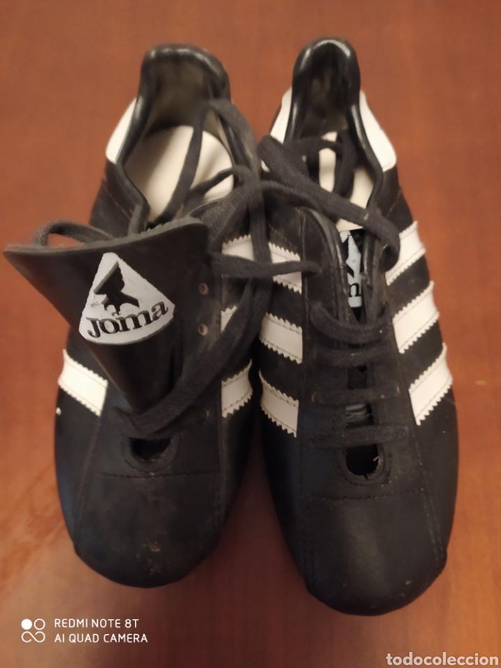 Coleccionismo deportivo: Botas de fútbol vintage marca JOMA, talla 32 originales años 80 sin usar - Foto 6 - 200334271